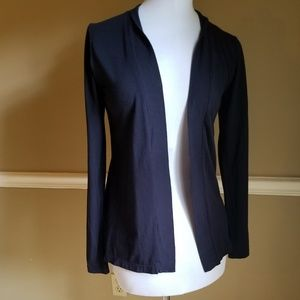 J Crew Navy Blue Open Front Cardigan Small